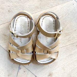 Original Saltwater Sandals, Size 4 Toddler